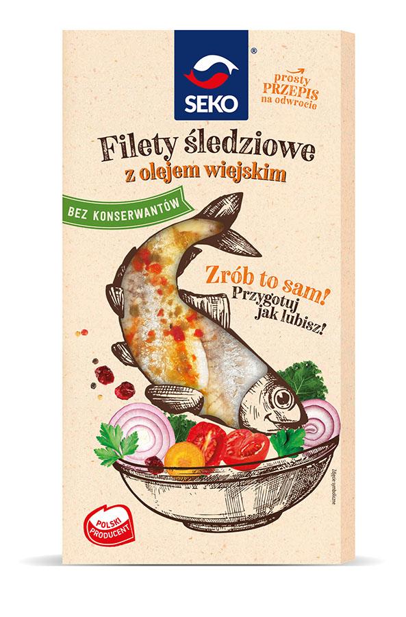Filety śledziowe z olejem wiejskim