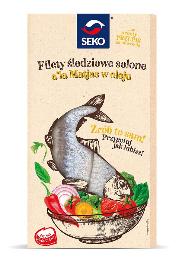 Filety śledziowe a'la matjas